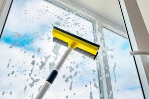 window cleaning squeeze